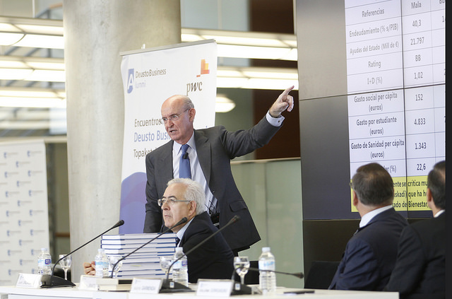 Pedro Luis Uriarte. Deusto Business Alumni, Bilbao.