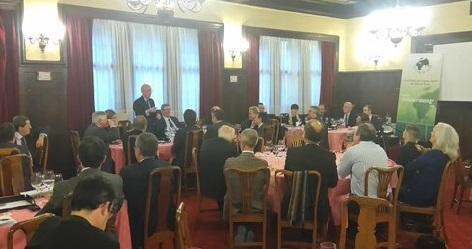 Presentación de Pedro Luis Uriarte en el Club de Roma sobre el Concierto Económico
